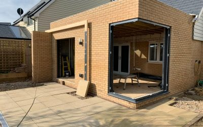 Extension in Capel-le-Ferne